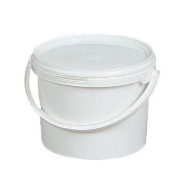 пищевое пластиковое ведро с крышкой